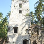 Watchtower at Revdanda Fort